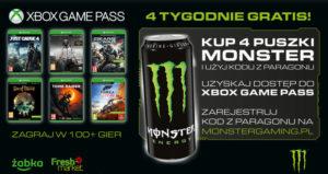 Monster Energy Xbox promocja