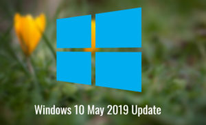Win 10 May 2019 Update