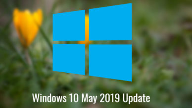 Win 10 May 2019 Update