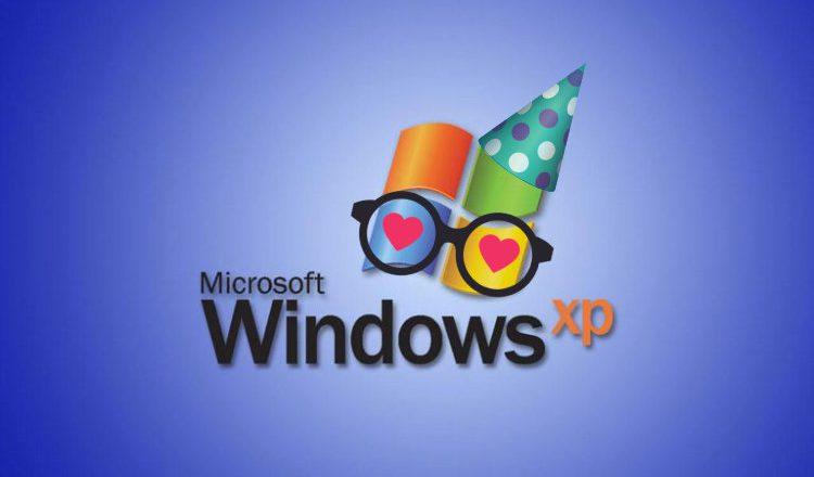 Windows XP - urodziny
