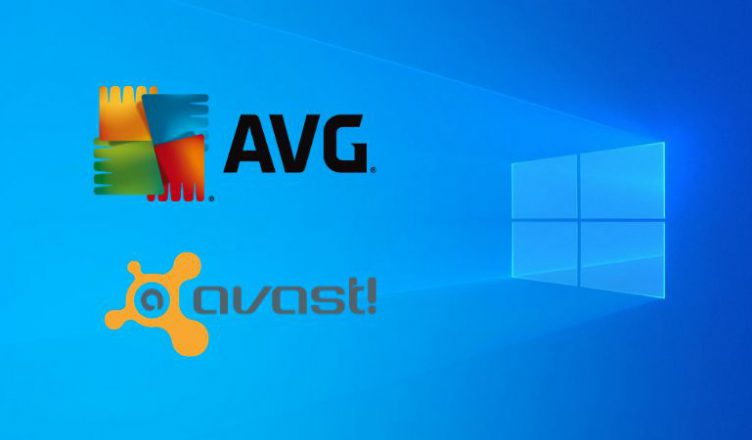 Windows 10 - AVG, Avast