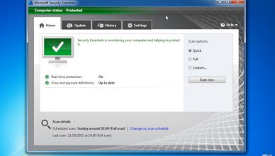 Windows 7 - Microsoft Security Essentials