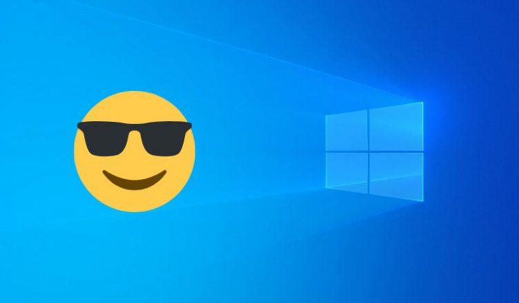 Windows 10 emoji