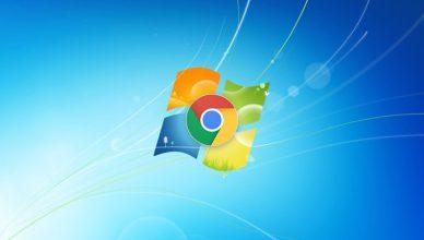 Windows 7 Google Chrome
