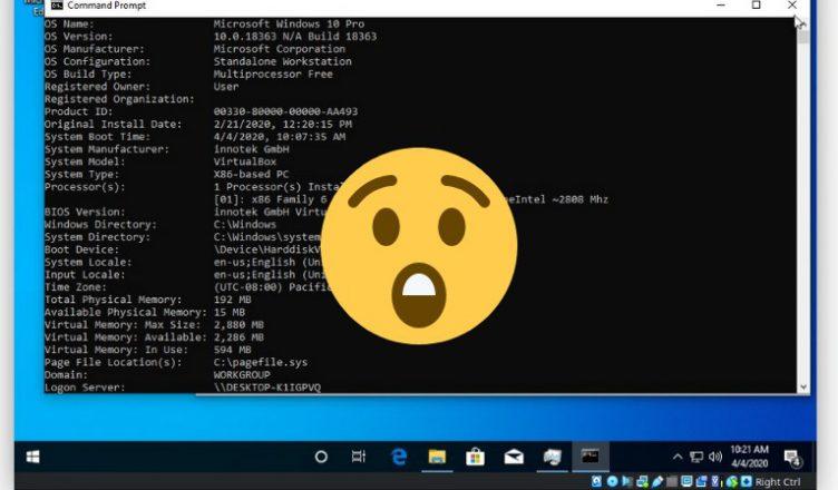 Windows 10 192 MB RAM