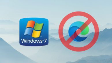 Windows7 Edge Chromium