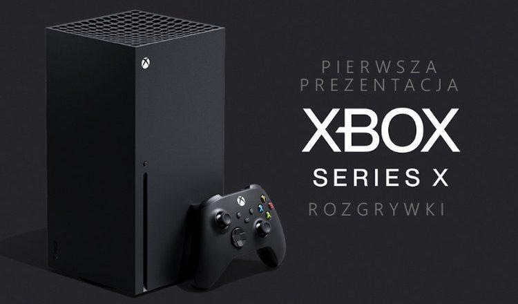 Xbox Series X prezentacja rozgrywki