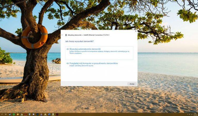 Menedżer urządzeń Windows 10