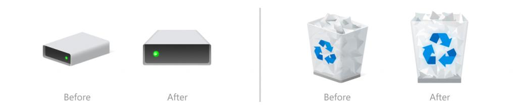 Nowe ikony w Eksploratorze Plików - 21H2