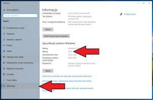 Windows 10 - sprawdzanie wersji