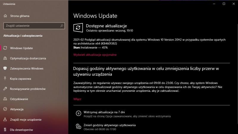 KB4601382 - Windows Update